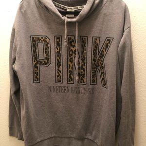 Large PINK CHEETAH Sweatshirt